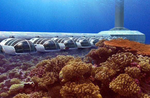 Hoteles incre bles una estad a de lujo bajo el mar for Como se llama el hotel que esta debajo del mar
