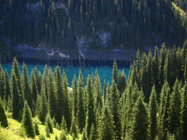 Kaindy_lake2