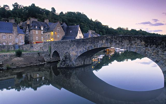 Dinan, Ille et Vilaine, Brittany, France