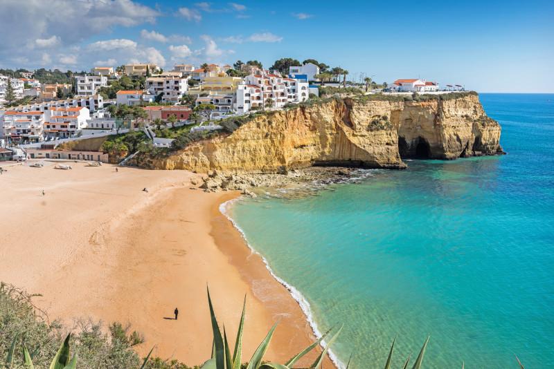 Carvoeiro-portugal-playa