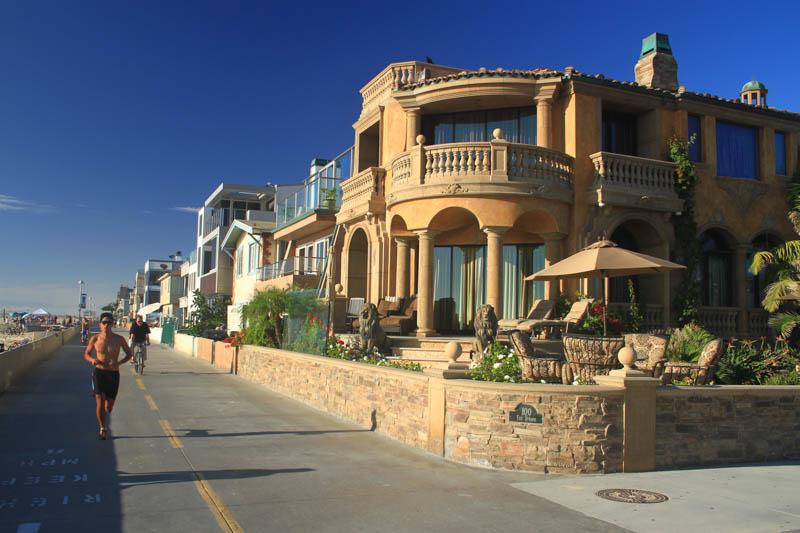 Costa de Hermosa Beach California