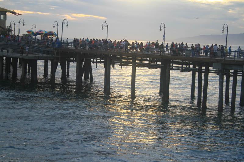 Pier de Santa Monica
