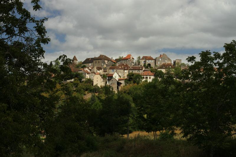 ruta de Cahors a Calvignac